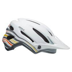 KASK ROWEROWY BELL 4FORTY RUSH MATTE GLOSS WHITE ORANGE ROZ.S