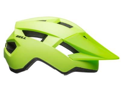 KASK ROWEROWY BELL SPARK MATTE BRIGHT GREEN BLACK ROZ.54-61CM