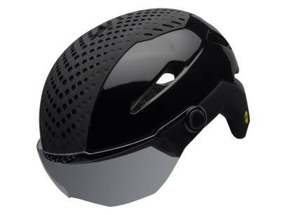 KASK ROWEROWY BELL ANNEX SHIELD INTEGRATED MIPS MATTE GLOSS BLACK ROZ.L 58-62CM